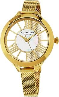 Stuhrling Original Women's 595.02 Winchester Gold-Tone Stainless Steel Watch