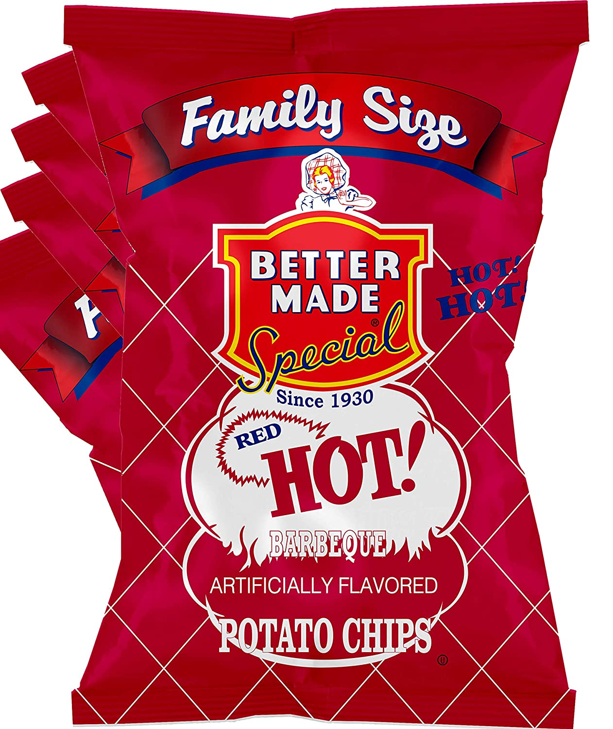 Better Made Special Potato Chips - Bags o 4 x 8.5-10oz A surprise price online shopping is realized Pack