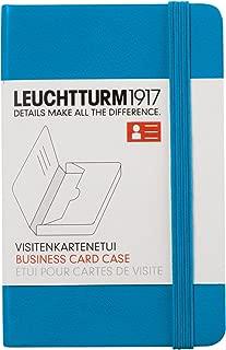 Leuchtturm1917350143Azure Business Card Wallet