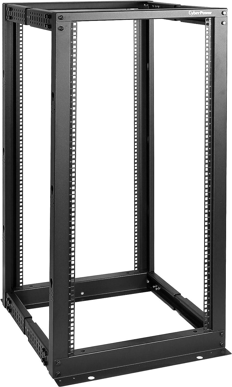 CyberPower Carbon CR25U40001 25U Open Frame Rack