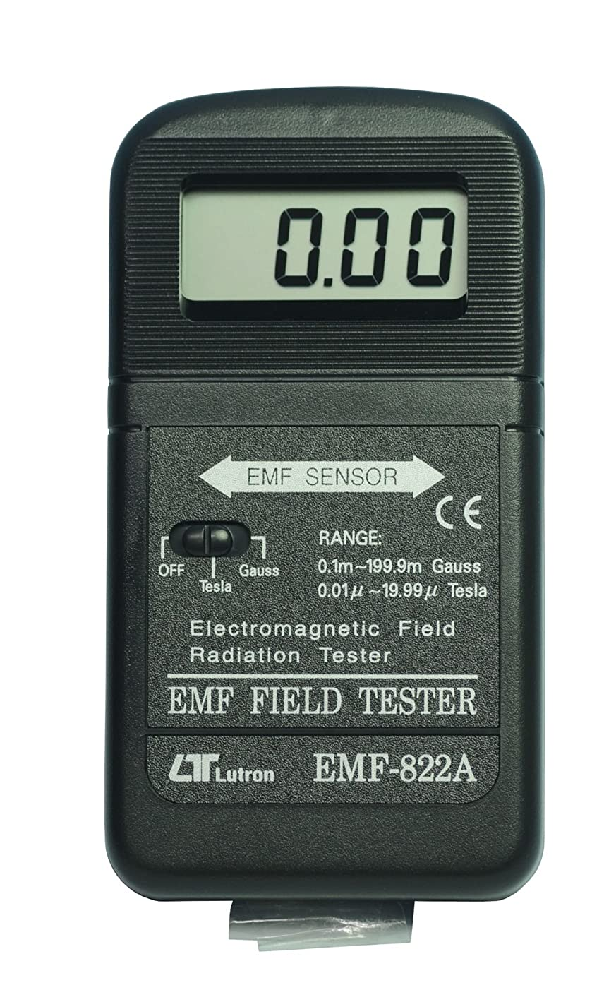 実用的うめき声光沢LUTRON 電磁波測定器 EMF-822A