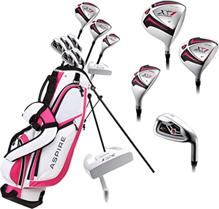 be87f77b93cb Aspire X1 Ladies Womens Complete Right Handed Golf Clubs Set Includes Driver