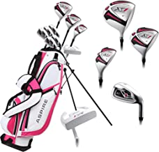Aspire X1 Ladies Womens Complete Right Handed Golf Clubs Set Includes Titanium Driver,..