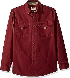 Wrangler Men's Ls Canvas Shirt