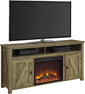 Ameriwood Home Farmington Electric Fireplace TV Console for TVs up to 60