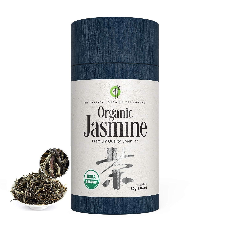 The Tampa Mall Oriental Organic-Premium Jasmine Green 40+ Long-awaited Tea- servings -2.