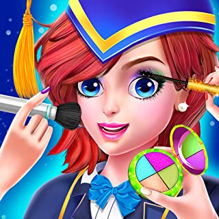 High School Fashion Girls Makeover - Spa, Makeup, Dress up Beauty Game