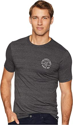 Short Sleeve Tri-Blend Edge To Edge Bear Tee