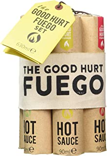 Kit de regalo The Good Hurt Fuego, un conjunto de salsas