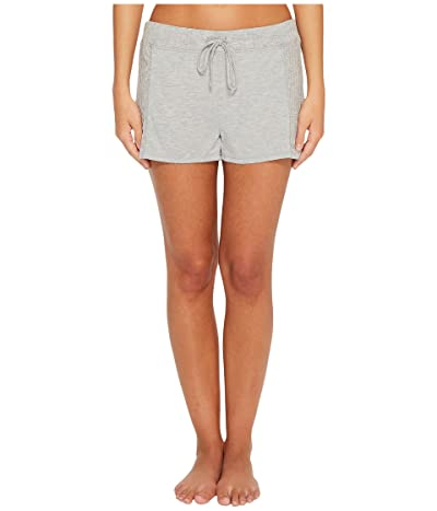 Splendid Always Sleep Shorts (Light Heather Gray) Women