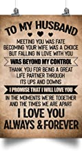 thanhlk to My Husband - was Beyond My Control - The Perfect Husband Gift, Boyfriend Gift or Groomsmen Gift - Personalized Gifts for Men