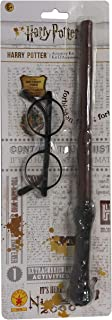 Rubie's Child Harry Potter Glasses & Wand Kit,One Size, Multi-Color