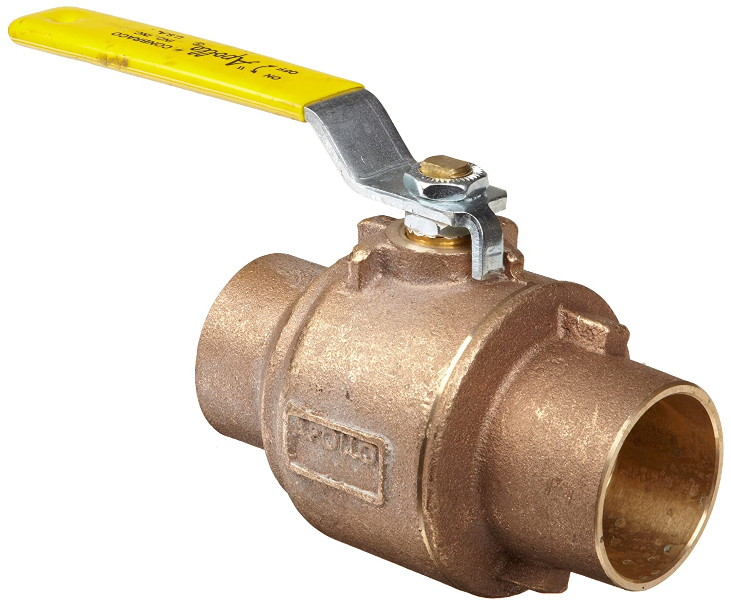 Apollo 77C-200 Series Bronze At the price of surprise Ball Valve Inline Piece Two Sales for sale Leve