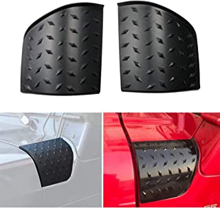 Sporthfish New Durable Black ABS Cowl Body Armor Powder Coated Finish Outer Cowling Cover for 1997-2006 Jeep Wrangler TJ - A Pair