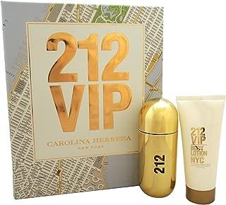 Carolina Herrera 2 Piece Fragrance Set for Women, 212 VIP