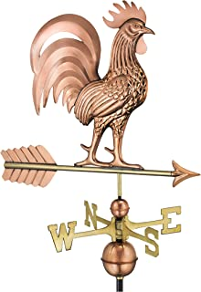 Good Directions 1973P Proud Rooster Copper Weathervane