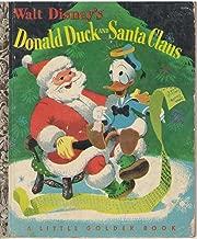 Walt Disney's Donald Duck and Santa Claus (Little Golden Books, D27)