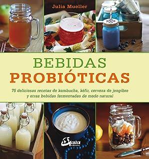 Bebidas probióticas. 75 deliciosas recetas de kombucha, ké