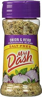 Mrs. Dash Onion & Herb All Natural Seasoning Blend 2.5 Oz - Pack of 2