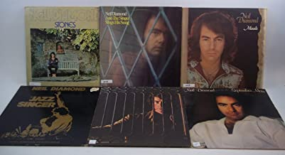 Neil Diamond Lot of 6 Vinyl Record Albums The Jazz Singer and more