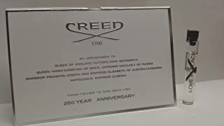 CREED LOVE IN BLACK by Creed EDT VIAL ON CARD MINI