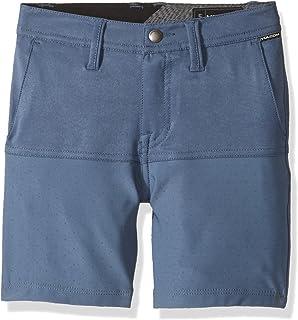 "Volcom boys Frickin Snt Block 18"" Hybrid 4 Way Stretch Short Youth Casual Shorts"