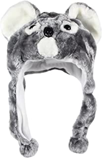 Fun Crazy Cat Handmade Winter Woollen Animal Hat Fleece Lining One Size UNISEX