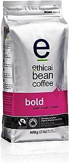 Ethical Bean Fair Trade Organic Coffee, Bold Dark Roast, Whole Bean Coffee  - 2lb (908g) Bag
