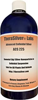 TheraSilver Labs Advanced Colloidal Silver 33 Fl Oz!