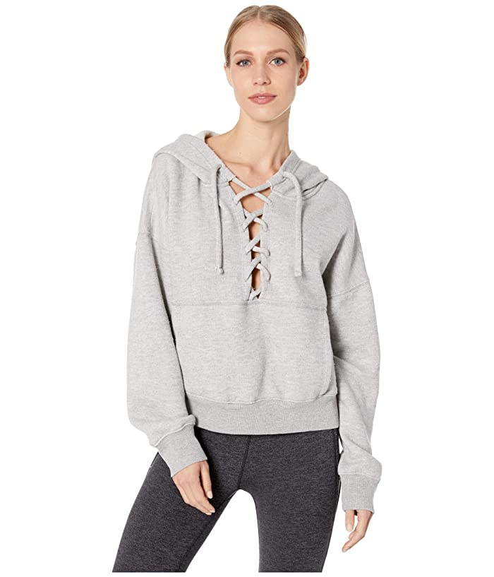 Free People Movement Believe It Sweat Hoodie (Grey Combo) Women