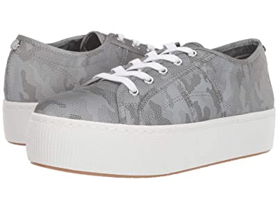 Steve Madden Emmi Platform Sneaker (Grey Metallic) Women