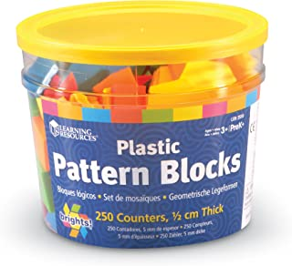Learning Resources Brights Pattern Blocks