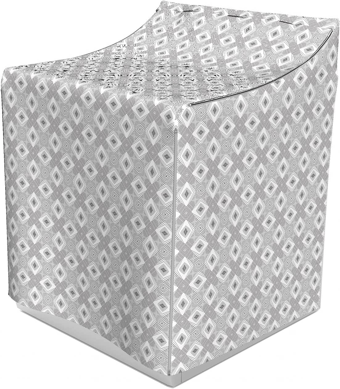 Ambesonne Geometric Bombing new work Attention brand Washer Cover Modern Design of Pattern Line