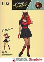 Simplicity 8432 DC Comics Bombshell Batwoman Costume Sewing Patterns, Size 16-24