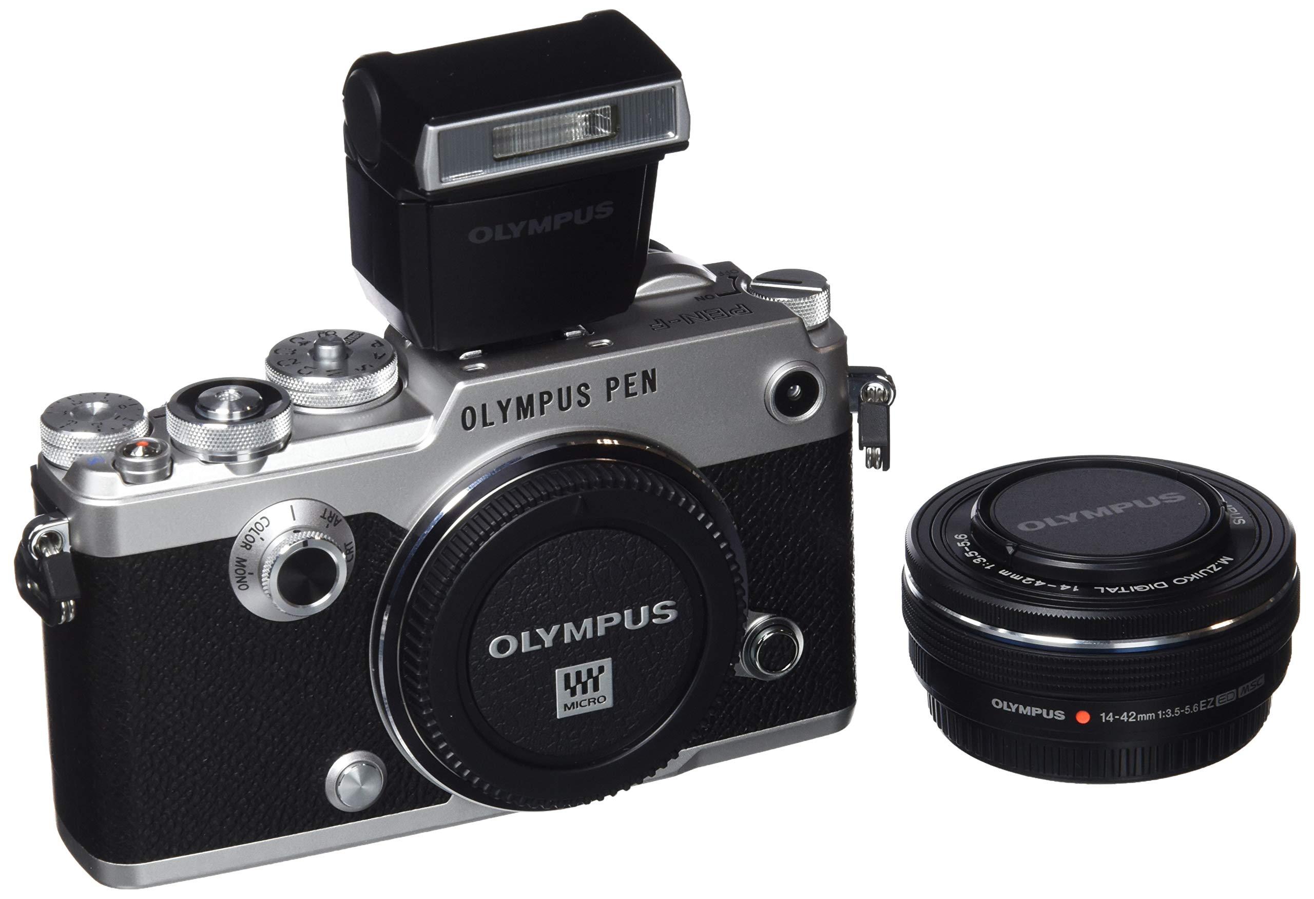 Kit Olympus Pen-F, cámara de Sistema Micro Cuatro Tercios, 20 ...