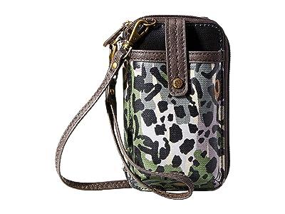 Sakroots Artist Circle Smartphone Wristlet (Slate Spotted Wildlife) Wristlet Handbags