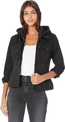 Denim Jacket w/ Removable Hood