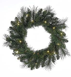 Kurt Adler 18-Inch Green LED Wreath