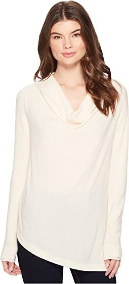 Three Dots - Drape Front Top
