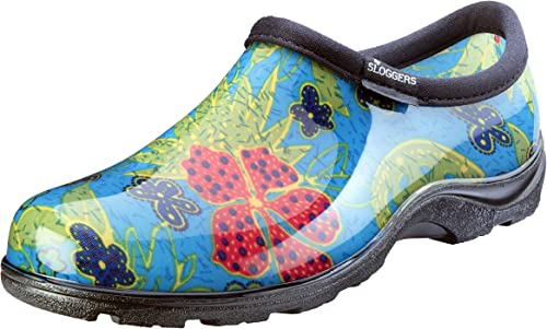 lowest Sloggers Women's Waterproof Rain and Garden discount Shoe with Comfort Insole, Midsummer Blue, Size 9, Style outlet online sale 5102BL09 outlet sale