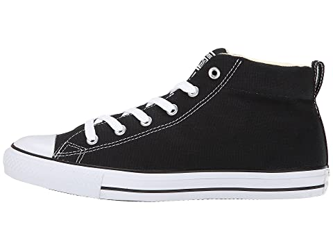 Black Natural All Canvas White Star Chuck WhiteWhite Taylor Street Converse Mid WhiteNavy Natural Natural Core wxz8UHn