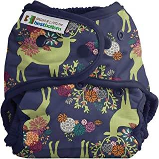 Bigger Best Bottom Cotton Diaper - Snap - Caribou Bloom - Made in The USA