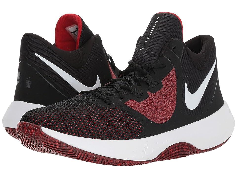 Nike Air Precision II (Black/White/University Red) Men