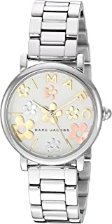 Marc Jacobs Women's 'Classic' Quartz Stainless Steel Casual Watch, Silver-Toned (Mj3581), Analog Display