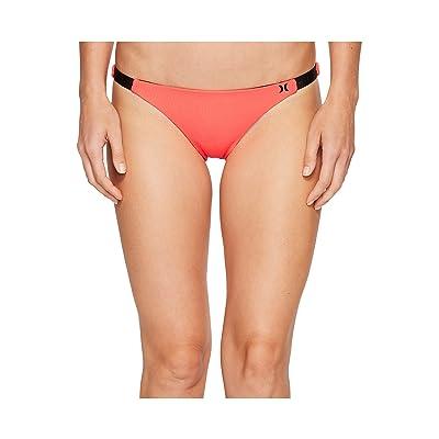 Hurley Quick Dry Cheeky Bottom (Bright Crimson) Women