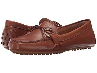 LAUREN Ralph Lauren Briley Moccasin Loafer (Deep Saddle Tan Super Soft Leather) Women