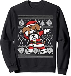 Dabbing Boxer Christmas