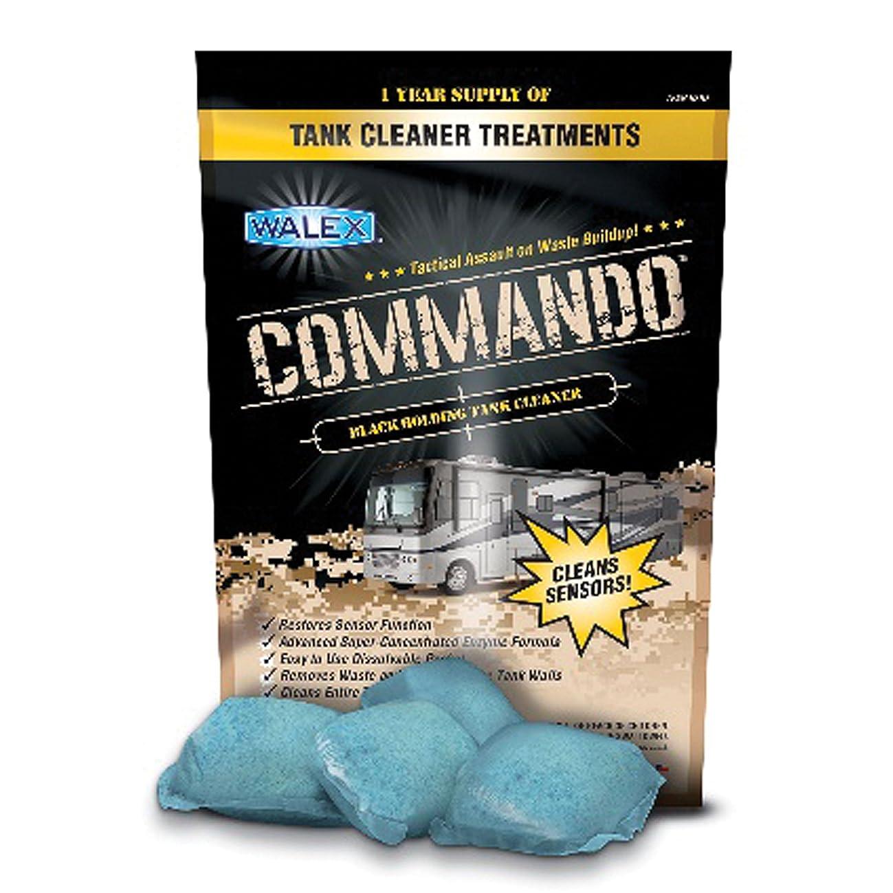 Walex CMDOBK Commando Black Tank Cleaner, 40 Pack Drop-Ins