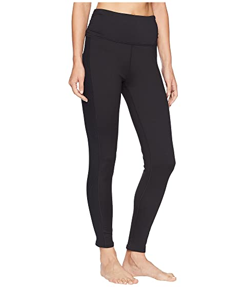 Leggings cintura espléndidos ante de alta de negros jersey de qnqPgxv4