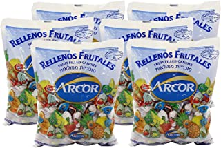 Arcor Kosher Assorted Fruit Flavored Hard Candy with Chewy Centers 6 Lb